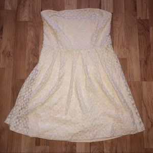 Cooperative Strapless Dress Size Large